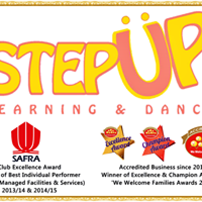 Step Up Learning & Dance @Safra Punggol Country Club