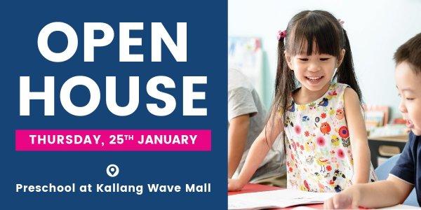 Open House at Lorna Whiston Preschool at Kallang Wave Mall