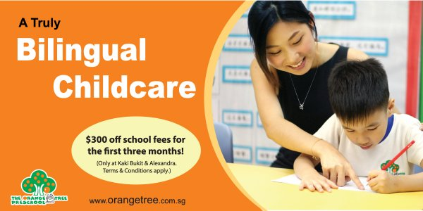 The Orange Tree Preschool Enrolment