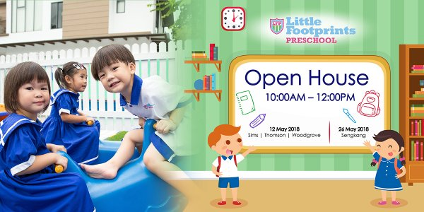 Little Footprints Preschool Open House