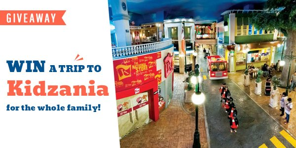 Skoolopedia April Giveaway- Win Tickets to Kidzania!