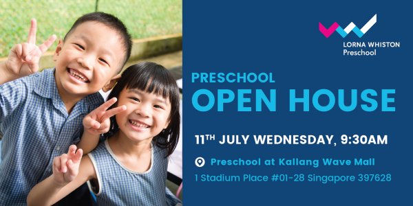 Lorna Whiston Preschool Open House @ Kallang Wave Mall