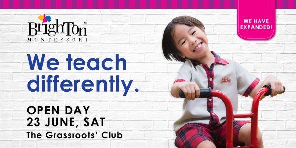 Brighton Montessori Grassroots' Club Open Day