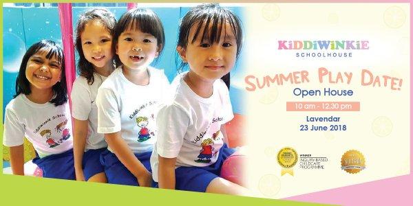 Summer Play Date Open House @ Kiddiwinkie Schoolhouse (Lavender)