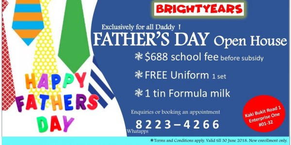 HAPPY FATHER'S DAY OPEN HOUSE