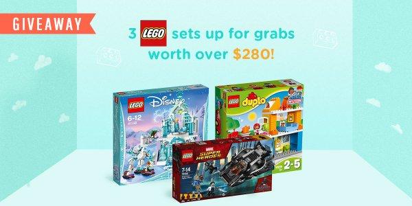 Skoolopedia July Giveaway- 3 Lego sets up for grabs worth over $280!