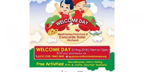 MindChamps Preschool @ Concorde Hotel (Orchard) - Open House