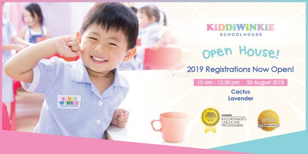 [OPEN HOUSE] Kiddiwinkie Schoolhouse @ Cactus and Lavender