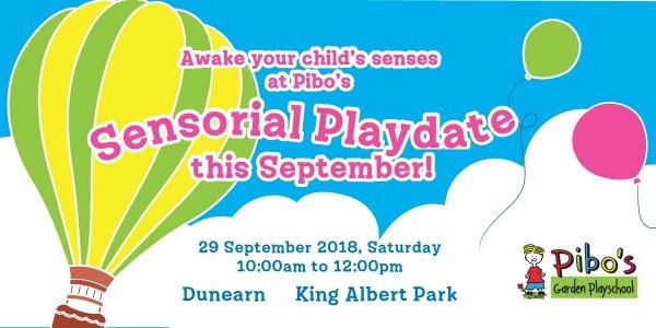 Sensorial Playdate with Pibo's Garden Playschool
