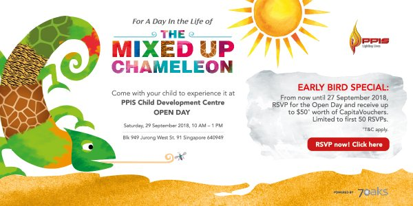 PPIS Child Development Centre - Jurong 2's Open Day