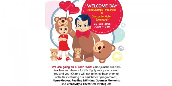 MindChamps Preschool @ Concorde Hotel (Orchard) - We are Going on a Bear Hunt