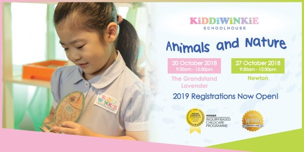 [OPEN HOUSE] Kiddiwinkie Schoolhouse @ The Grandstand, Lavender and Newton