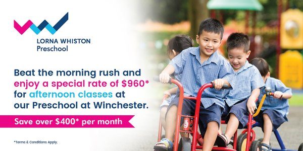 Afternoon Classes at Lorna Whiston Preschool @ Winchester