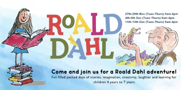 Roald Dahl Themed School Holiday Programme