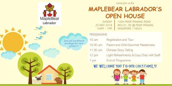 Open House @ MapleBear Labrador