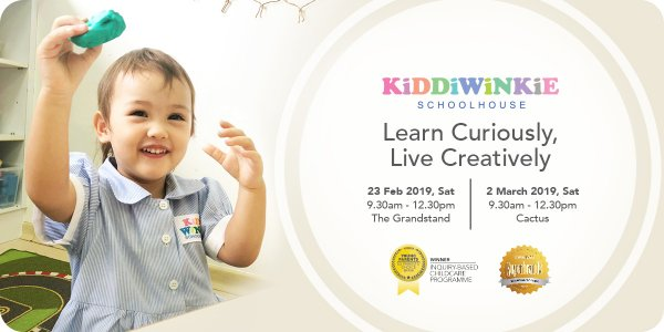 [OPEN HOUSE] Kiddiwinkie Schoolhouse @ The Grandstand and Cactus