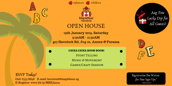 MapleBear Havelock Open House