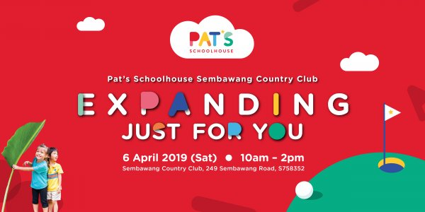 Pat's Schoolhouse Sembawang Country Club is expanding!