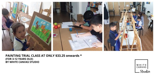 Painting Trial Lesson @ White Canvas Studio