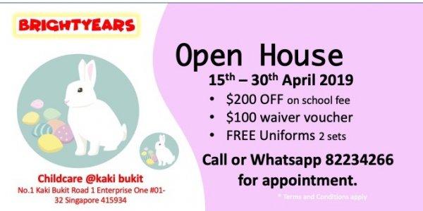 Open House for Easter Celebration
