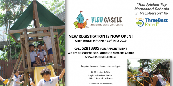 BLEU CASTLE REGISTRATION NOW OPEN!