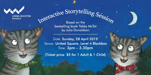 Tabby McTat: Interactive Storytelling