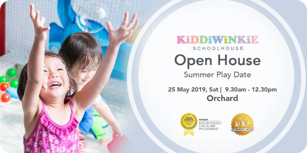 [OPEN HOUSE] Summer Play Date at Kiddiwinkie Schoolhouse