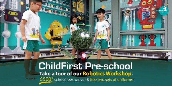Take a tour of our Robotics Workshop
