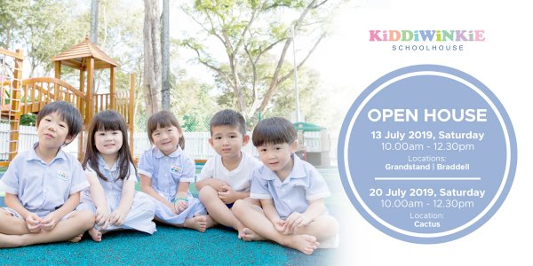 [OPEN HOUSE] Kiddiwinkie Schoolhouse @ The Grandstand, Braddell and Cactus