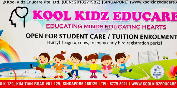 Brand New Student Care Centre - Open for Intake 2019 - (TIONG BAHRU)