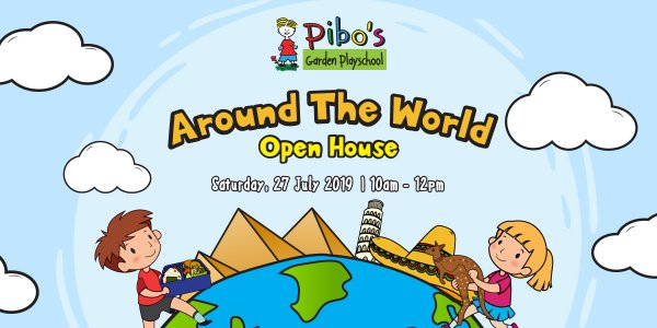 Pibo's Around The World Open House