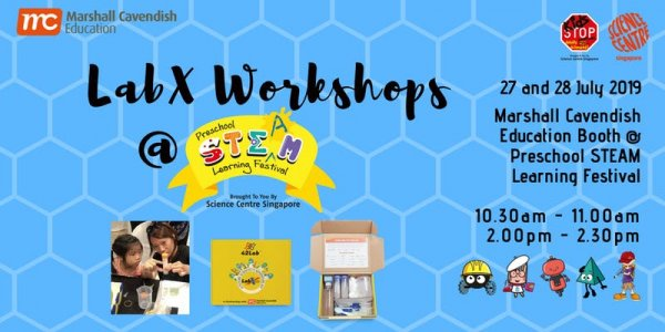MCE PROMO -- LabX Kit & Workshop RSVP @ Preschool STEAM Learning Festival