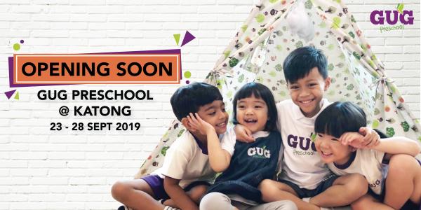 Opening Soon - GUG Preschool @ Katong!