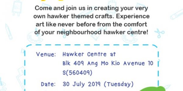 Our Hawker Artistis (Free Key Chain Making Craft)