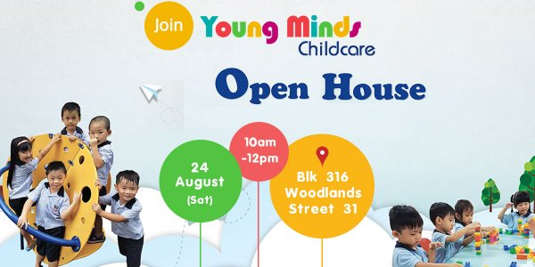 Young Minds Childcare Open House (24 Aug)