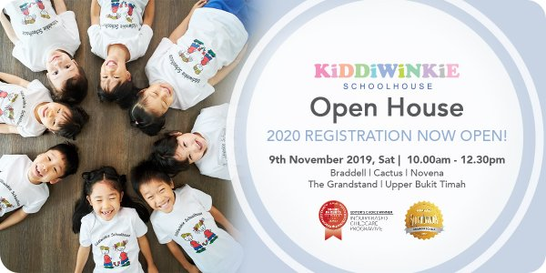 [OPEN HOUSE] Kiddiwinkie Schoolhouse @ Braddell, Cactus, Novena, The Grandstand and Upper Bukit Timah