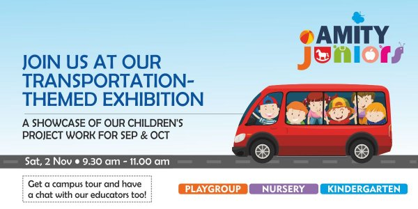 Join us @ the Transportation-Themed Exhibition
