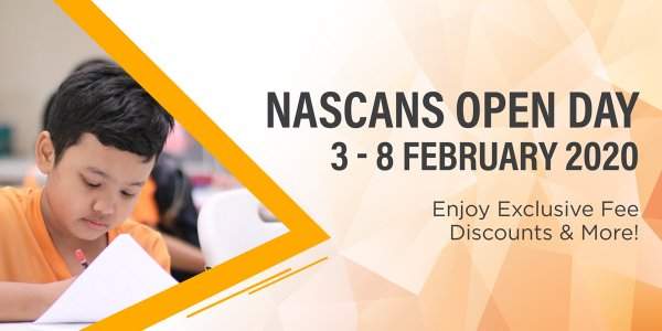 Nascans Open Day (3 - 8 Feb 2020)