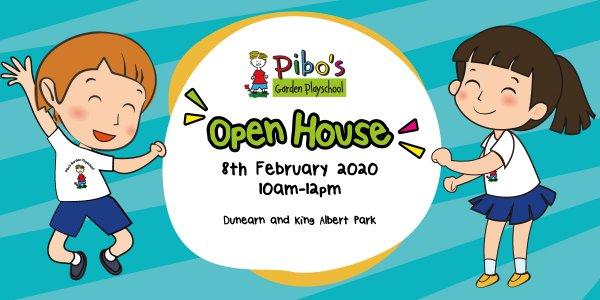 Pibo's Garden Playschool Open House
