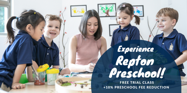 Experience Repton Preschool with a Free Trial Class!