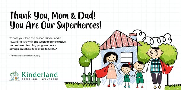 Thank You, Mom & Dad! You Are Our Superheroes!