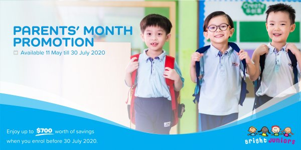 Bright Juniors - Parents' Month Promotion 2020