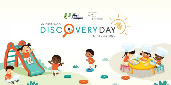 Singapore's Largest Online Pre-school Learning Convention: NTUC First Campus' My First Skool's Discovery Day 2020