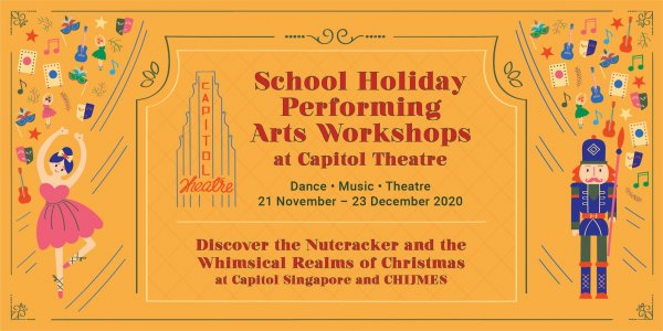 School Holidays Performing Arts Workshops at Capitol Theatre