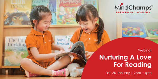 Nurture A Love for Reading in Your Child