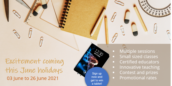 June Holidays Workshop - Financial & Medical programme