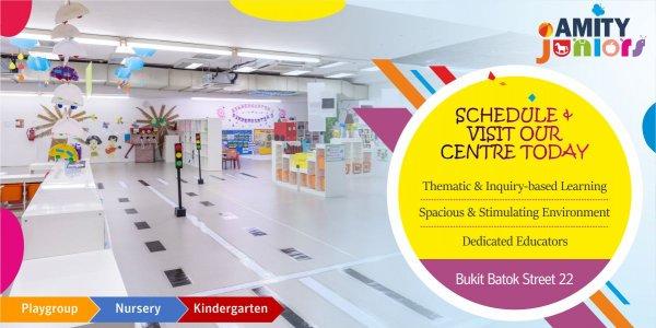 Schedule a Visit @ Amity Juniors (Bukit Batok)