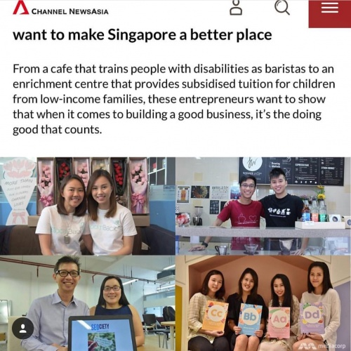 School of Concept on Channel NewsAsia